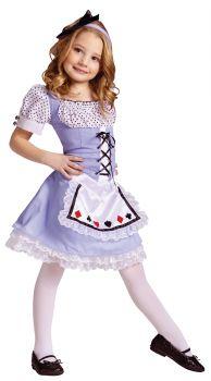 Alice Costume - Child L (12 - 14)