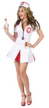 Women's Nurse Say Ahhh Costume - Adult M/L (10 - 14)