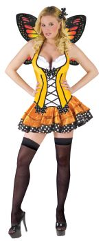 Women's Spring Butterfly Costume - Adult M (10 - 12)