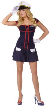 Women's Major Tease Costume - Adult M/L (10 - 14)