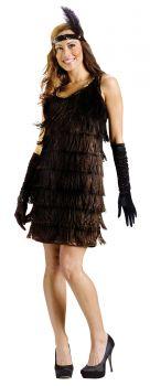 Women's Flapper Costume - Adult M/L (10 - 14)