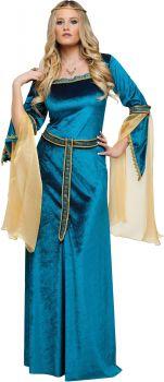 Women's Renaissance Princess Costume - Adult S (4 - 6)