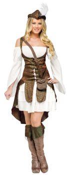 Women's Robin Hood Costume - Adult M (8 - 10)