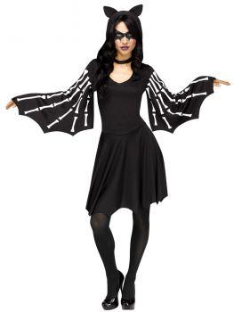 Women's Sexy Bat Costume - Adult M/L (10 - 14)
