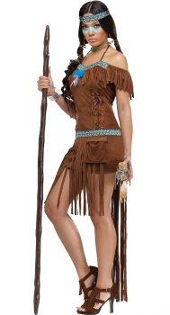 Women's Medicine Woman Costume - Adult S/M (2 - 8)