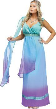 Women's Sea Queen Costume - Adult S/M (2 - 8)