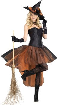 Women's Be Witchin' Costume - Adult S (4 - 6)