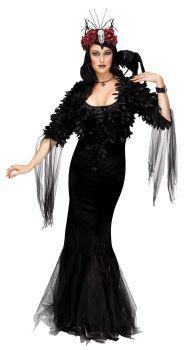 Women's Raven Mistress Costume - Adult S (4 - 6)