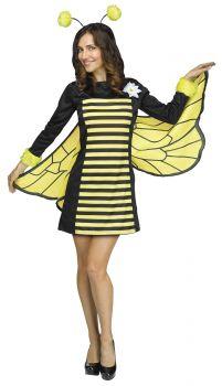 Women's Bee My Honey Costume - Adult S/M (2 - 8)