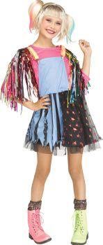 Girl's Roller Derby Rascal Costume - Child LG (12 - 14)
