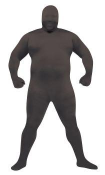 Plus Size Skin Suit - Black - Adult Plus Size