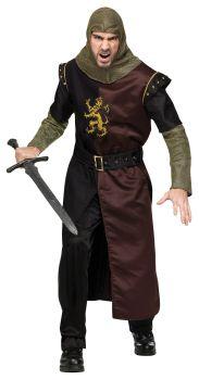 Valiant Knight Costume - Adult OSFM