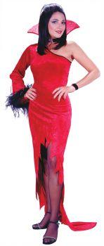 Women's Crimson Countess Costume - Adult M/L (8 - 14)