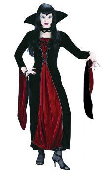 Women's Velour Vampress Costume - Adult S/M (2 - 8)