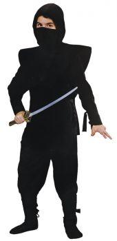 Ninja Complete Black - Child M (8 - 10)