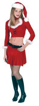 Women's Ms. Sexy Santa Costume - Adult M/L (8 - 14)