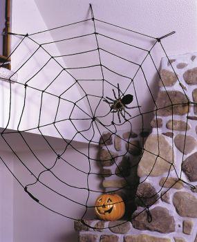 9' Spiderweb Rope - Black