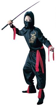 Black Ninja - Child S (4 - 6)