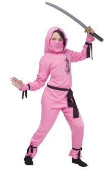 Pink Ninja - Child L (12 - 14)
