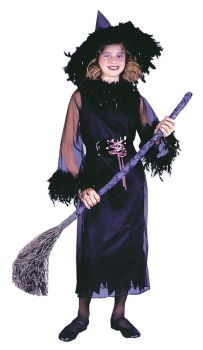 Feather Witch Black - Child L (12 - 14)