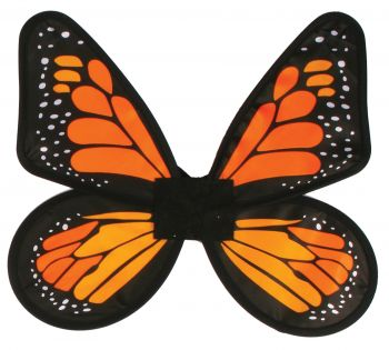 Wings Butterfly Satin Adult - Yellow