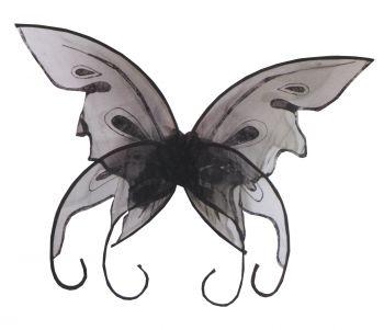 Butterfly Wings - Black
