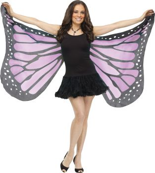 Soft Butterfly Wings - Orchid