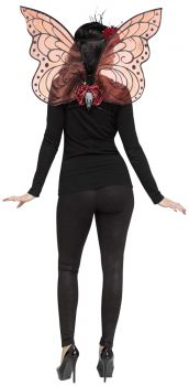 Sparkle Wings - Adult - Burgundy