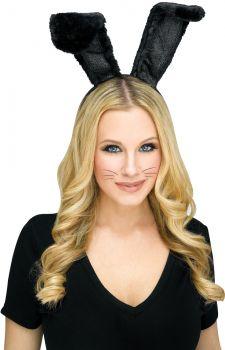 Bunny Headband - Black
