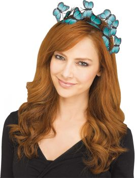 Butterfly Hairband - Turquoise