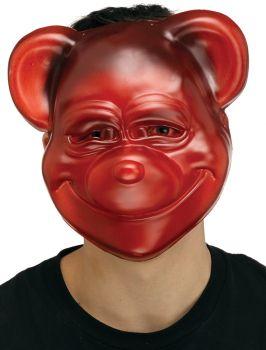 Red Goofy Gumme Bear Mask