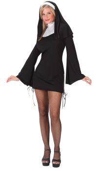 Women's Nun Naughty Costume - Adult M/L (8 - 14)