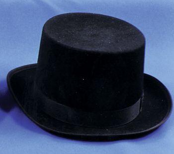 """Top Hat Felt Quality - Black - Hat Size S (21 3/8"""" C)"""