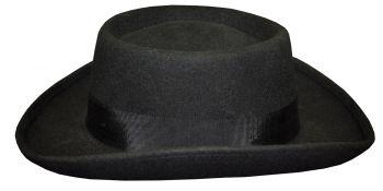 """Planter Hat - Black - Hat Size M (22 ½"""" C)"""