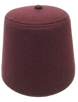 "Fez Maroon - Hat Size M (22 ½"" C)"