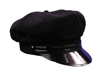 """Chauffeur Hat - Hat Size L (23"""" C)"""