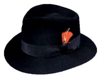 """Blues Hat - Hat Size S (21 3/8"""" C)"""
