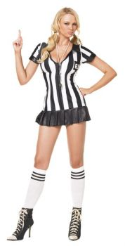 Women's Game Official Referee Costume - Adult M/L