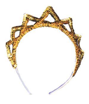 Tiara Sequin - Gold