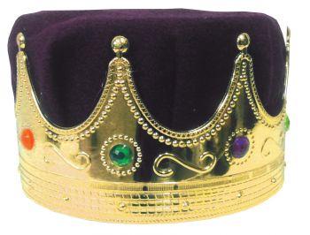 Crown Kings With Turban - Purple