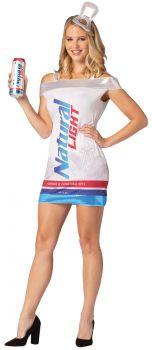 Women's Natural Light Can Dress - Adult L/XL