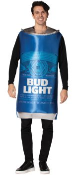 Bud Light Can Adult Costume