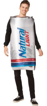 Natural Light Can Adult Costume