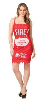 Taco Bell Packet Dress - Fire - Adult M/L
