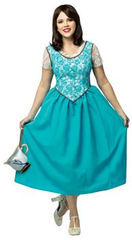 Women's Belle - Once Upon A Time Costume - Adult Large