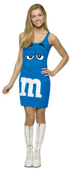 M&M's Tank Dress - Blue - Teen (13 - 16)