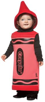 Crayola Crayon Baby Costume - Red - Toddler (18 - 24M)