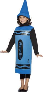 Crayola Crayon Child Costume - Blue - Child (7 - 10)