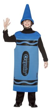 Crayola Crayon Tween Costume - Blue - Tween (10 - 12)