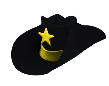 40-Gallon Hat - Black